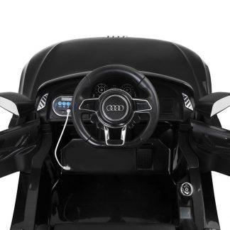 Kids Ride On Car Audi R8 Licensed Electric 12V Black
