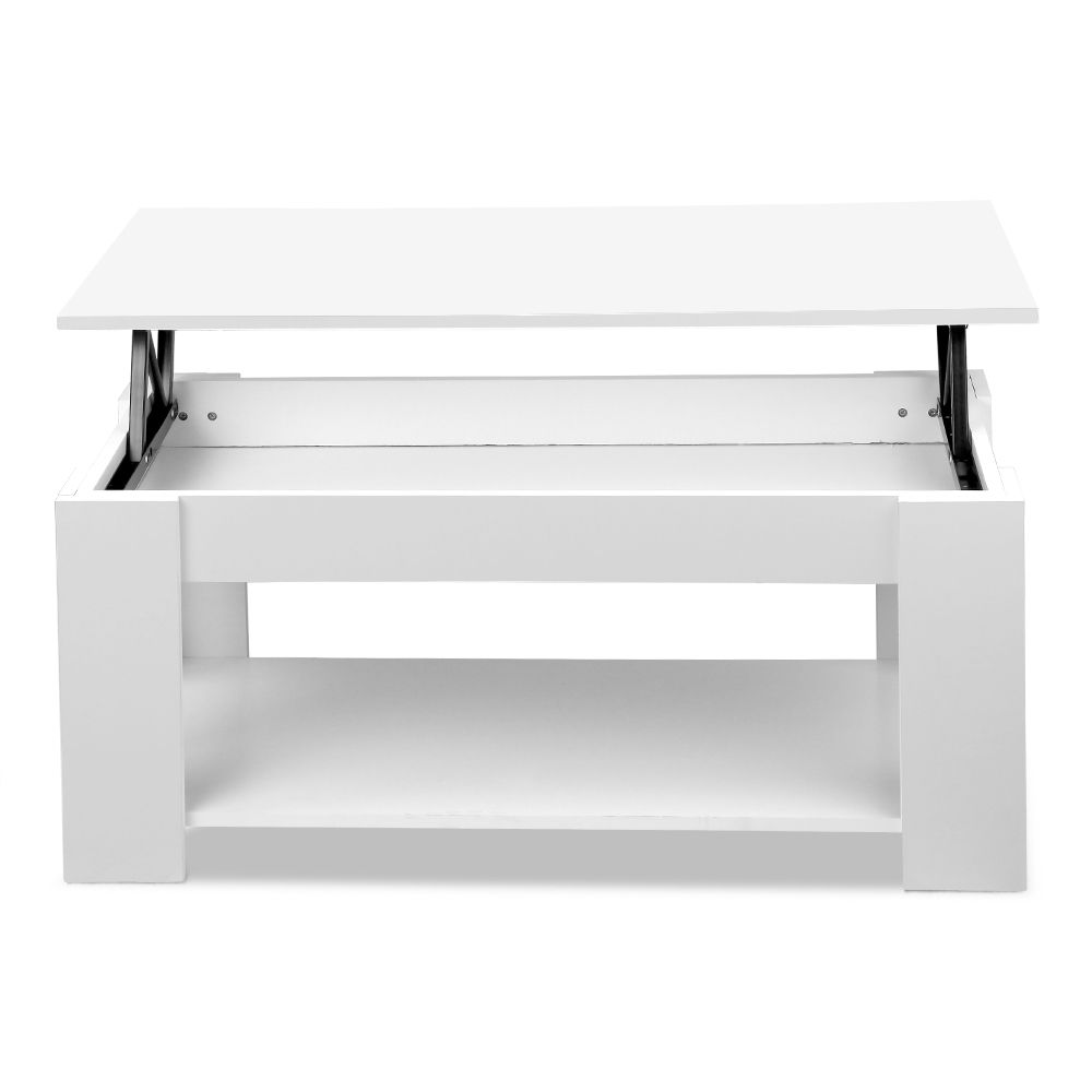 Pleasant Artiss Lift Top Coffee Table Lift Up Top Mechanical Coffee Table White Andrewgaddart Wooden Chair Designs For Living Room Andrewgaddartcom