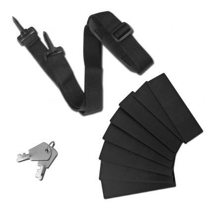 Embellir Portable Cosmetic Beauty Makeup Carry Case - Diamond Black