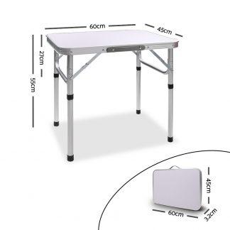 Portable Folding Camping Table 60cm