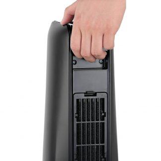 Devanti 2400W Electric Ceramic Tower Heater - Black
