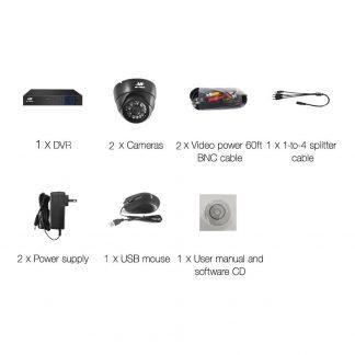 UL Tech 1080P 4 Channel HDMI CCTV Security Camera