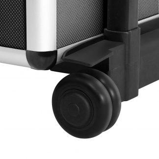 Embellir 7 in 1 Portable Cosmetic Beauty Makeup Trolley - Black
