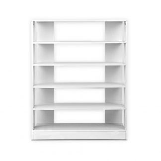 Artiss 6-Tier Shoe Rack Cabinet - White