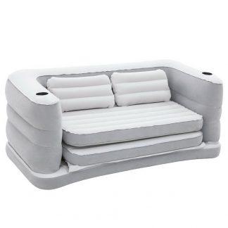 Bestway 2 in 1 Inflatable Sofa Bed - Grey