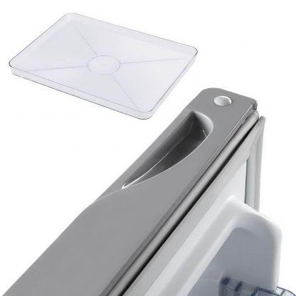 Devanti  95L Portable Bar Fridge - Silver