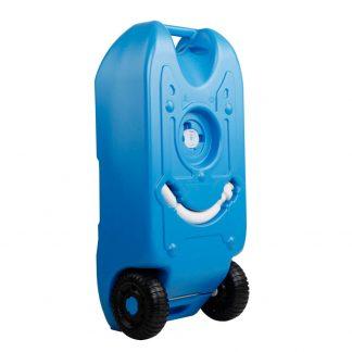 Weisshorn 40L Portable Wheel Water Tank - Blue