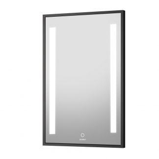 Devanti Bathroom Wall Mounted Vanity Makeup Dressing Mirror LED Illuminated 500mm x 700mmm