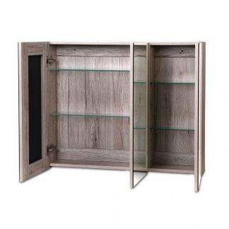 Cefito Bathroom Vanity Shaving Mirror Cabinet 1200MM x 720MM Pencil Edge Natural