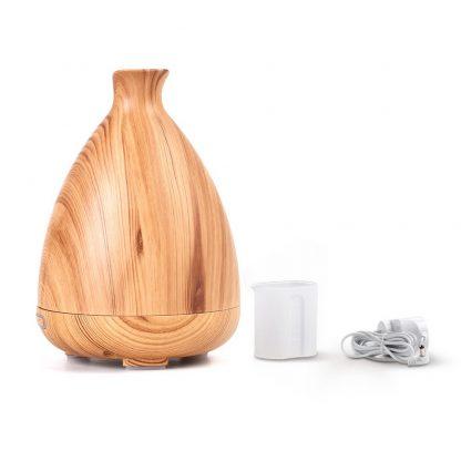 DEVANTI Aroma Diffuser Air Humidifier Light Wood Grain 120ml