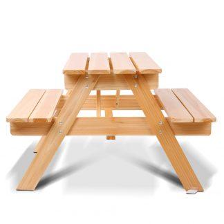 Keezi Kids Wooden Picnic Bench Set