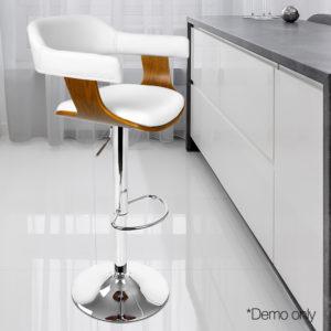 ba tw 8006a wh 11 300x300 - Artiss Wooden Bar Stool - White