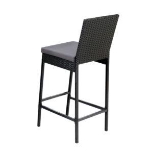 ODF BAR CHAIR BK 2X 02 300x300 - Gardeon Outdoor Bar Stools Dining Chairs Rattan Furniture X2