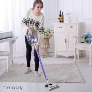 VAC CL 150 GY PP 12 1 300x300 - Devanti Cordless Stick Vacuum Cleaner - Purple & Grey