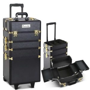 CASE MU 4T 081 GDBK 00 1 300x300 - Embellir 7 in 1 Portable Cosmetic Beauty Makeup Trolley - Black & Gold