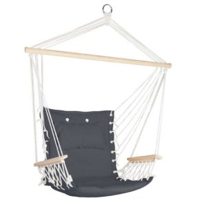 HM CHAIR ARM GREY 00 300x300 - Gardeon Hammock Hanging Swing Chair - Grey