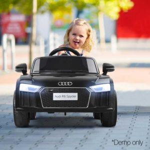 RCAR R8 S BK 11 300x300 - Kids Ride On Car Audi R8 Licensed Electric 12V Black