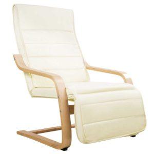 ARMCHAIR 02 BG 00 300x300 - Artiss Fabric Armchair with Adjustable Footrest - Beige