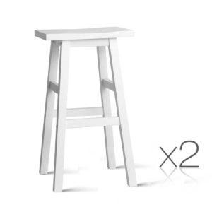 BA G 7031 WHX2 00 1 300x300 - Artiss Set of 2 Wooden Backless Bar Stools - White