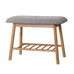 BAM B FS68C NT 00 300x300 - Artiss Shoe Rack Seat Bench Chair Shelf Organisers Bamboo Grey