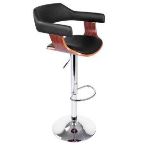 BA TW 8006A BK 00 300x300 - Artiss Wooden Bar Stool - Black