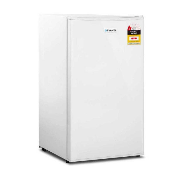 bf 95l wh 00 600x600 - Devanti  95L Portable Bar Fridge - White