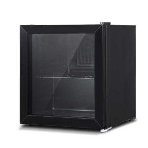 BF D 46L BK 00 300x300 - Devanti 46L Glass Door Bar Fridge Mini Countertop Freezer Fridges Bottle Cooler