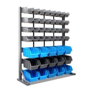 bin rack 47 00 300x300 - Giantz 47 Bin Storage Shelving Rack