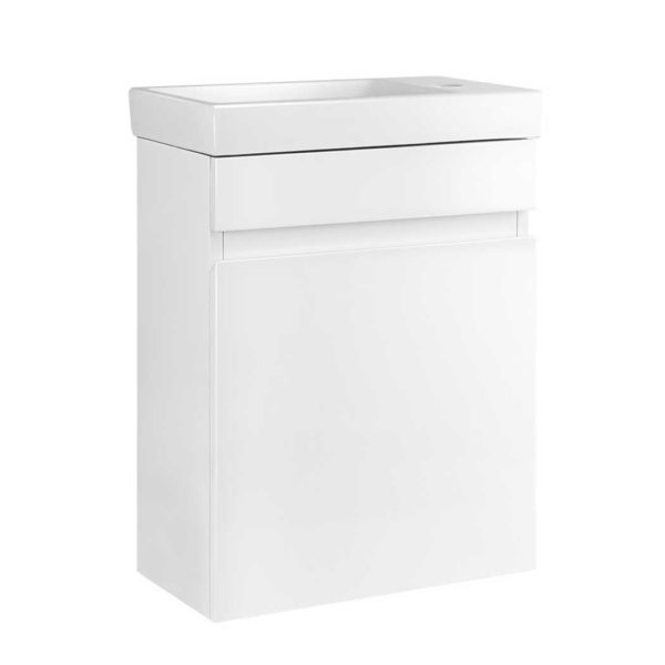 BV 6010 WH 00 600x600 - Cerfito Bathroom Vanity Ceramic Basin Sink Cabinet Wall Hung White