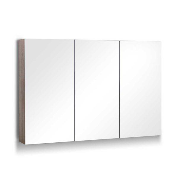 BV MC 6006 NT AB 00 600x600 - Cefito Bathroom Vanity Shaving Mirror Cabinet 1200MM x 720MM Pencil Edge Natural