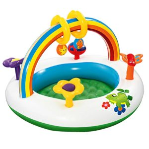 BW ACT CEN 52239 00 300x300 - Bestway Inflatable Play Kids Pool Child Activity Gym Center Rainbow Go and Grow