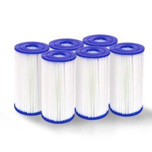 BW CA 2500 58095 00 300x300 - Set of 6 Bestway Pool Filter Cartridge