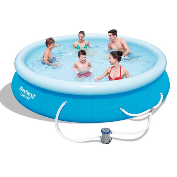 bw fast set pl 12 00 600x600 - Bestway Above Ground Swimming Pool