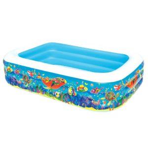 BW POOL KID SQ 54120 00 300x300 - Bestway Inflatable Kids Above Ground Swimming Pool