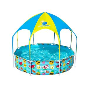 BW POOL PLAY 56543 00 300x300 - Bestway Above Ground Swimming Pool with Mist Shade