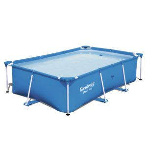 BW POOL SQ 259 56496 00 300x300 - Bestway Rectangular Above Ground Swimming Pool