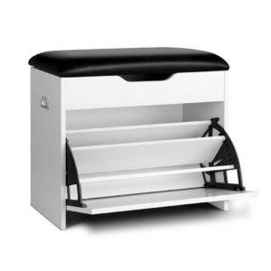 CABINET 8836 WH 00 300x300 - Artiss Adjustable 3 Tier Storage Cupboard - White