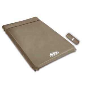 CAMP MAT SUE DT CO 00 300x300 - Weisshorn Double Size Self Inflating Mattress Mat 10CM Thick   Coffee
