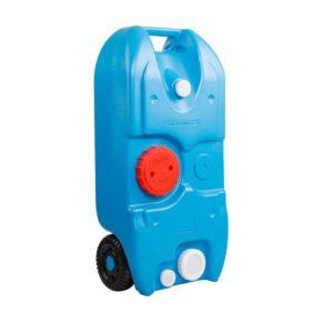 CAMP TANK 40L BLUE 00 300x300 - Weisshorn 40L Portable Wheel Water Tank - Blue