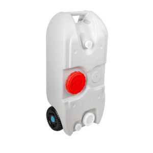 CAMP TANK 40L GREY 00 300x300 - Weisshorn 40L Portable Wheel Water Tank - Grey