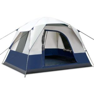 camp tent ca4 na 00 1 300x300 - Weisshorn 4 Person Canvas Camping Tent - Navy & Grey