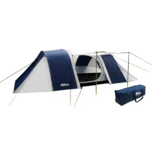 camp tent dome12 na 00 300x300 - Weisshorn 12 Person Canvas Dome Camping Tent - Navy & Grey