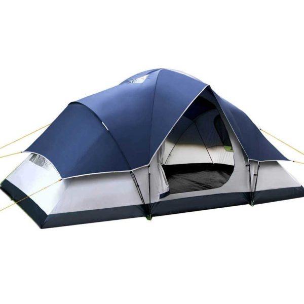 camp tent dome6 na 00 600x600 - Weisshorn 6 Person Family Camping Tent Navy Grey