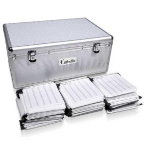 case cd 500 sl 00 1 300x300 - Embellir 500 Disc Aluminium Storage Box - Silver