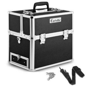 case hz7 002 1 bk 00 2 300x300 - Embellir Portable Cosmetic Beauty Makeup Carry Case - Black