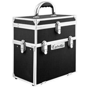 case hz8 040 bk 00 3 300x300 - Embellir Portable Cosmetic Beauty Makeup Carry Case with Mirror - Black