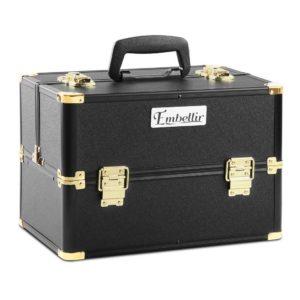 CASE MU 002 GDBK 00 300x300 - Embellir Portable Cosmetic Beauty Makeup Case - Black & Gold