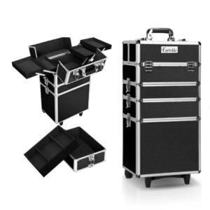 case mu 4t 081 bk 00 2 300x300 - Embellir 7 in 1 Portable Cosmetic Beauty Makeup Trolley - Black