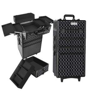 case mu 4t 081 dibk 00 300x300 - Embellir 7 in 1 Portable Cosmetic Beauty Makeup Trolley - Diamond Black