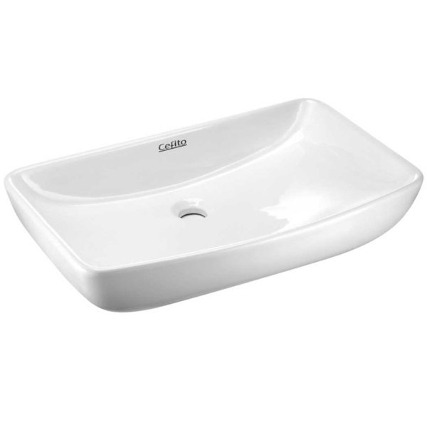 cb 046 wh 00 600x600 - Cefito Ceramic Rectangle Sink Bowl - White